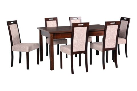 MODENA 2, krzesła ROMA 5 orzech (24X) (low res)