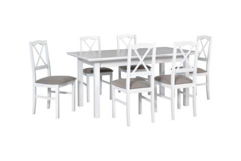 WENUS 5 L S, krzesła NILO 11 białe (3X) (low res)
